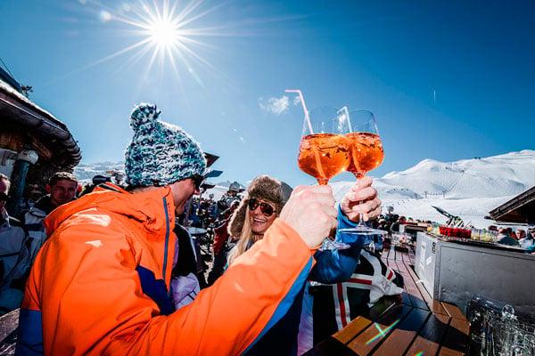 Der er fuld fart på afterskien i Obertauern - Skiferie til Østrig med Nortlander