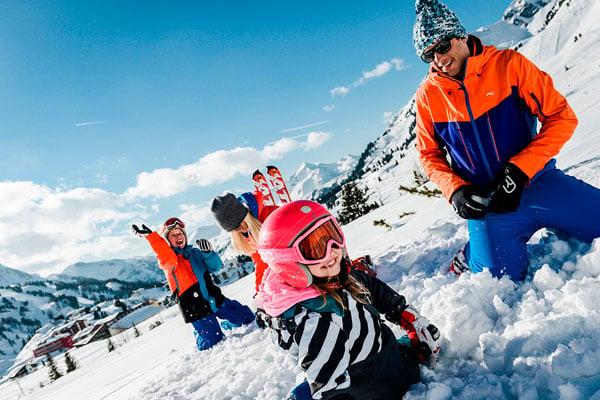 Obertauern i Østrig er den oplagte familiedestination til familieskiferien med Nortlander