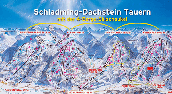 De 4 bjerge i Schladming