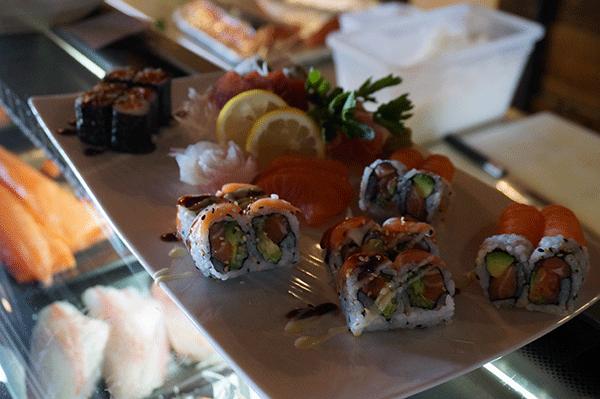 Chalet du Thorens sushi