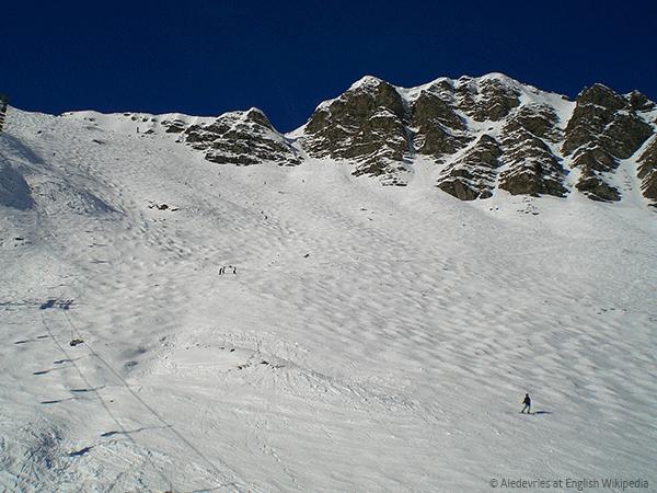 """La Chavanette bedre kendt som """"Mur Suisse"""""""