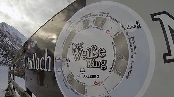 Der Weisse Ring er navnet på den rute, som vi kører i dag