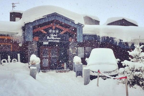 Det sner fortsat i Val Thorens