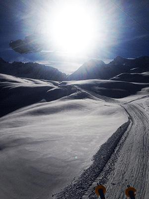Gletscheren der sørger for lange åbningstider i Passo Tonale