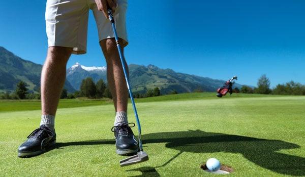 Golfbanerne i Zell am See er en oplevelse i sig selv