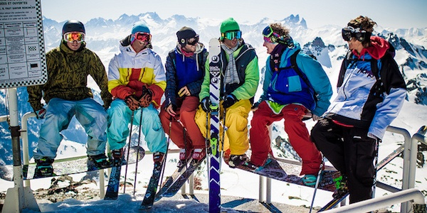 pakkeliste til skituren - husk skiudstyret