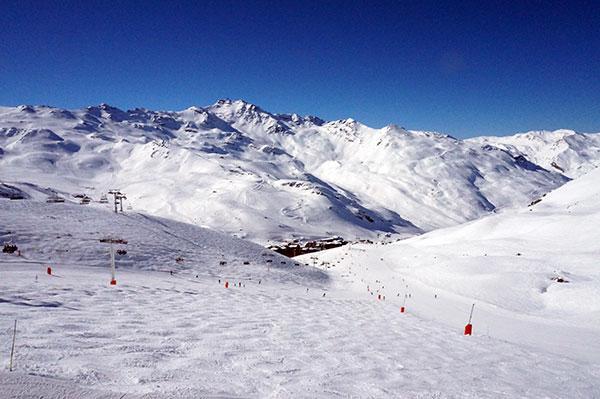 Pisterne i Val Thorens er klar til skiløb allerede i november