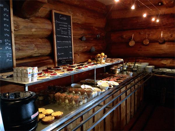 Le Flocon dessertbuffeten hvad skal man dog vaelge
