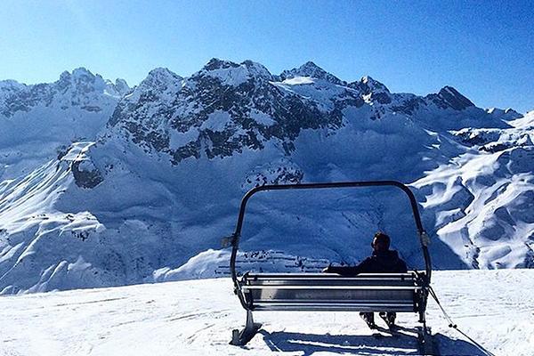 Du finder ikke mange træklifter i Alperne