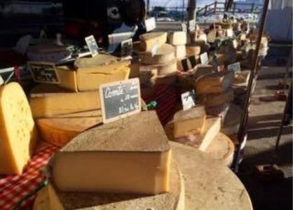 Markedet i Montgenevre en bid af Frankrig