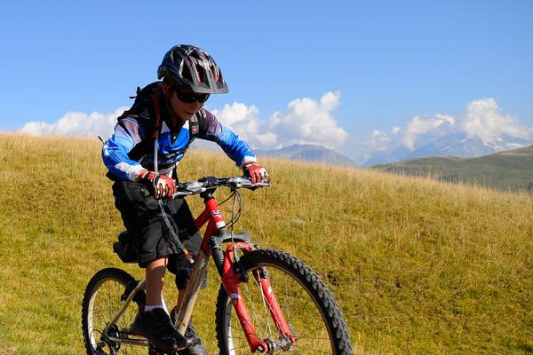 Mountainbike er utroligt populært i Alpe d'huez