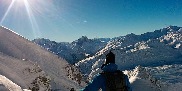 Powder Week i St. Anton med bjergguider, der viser dig de bedste områder i Arlberg