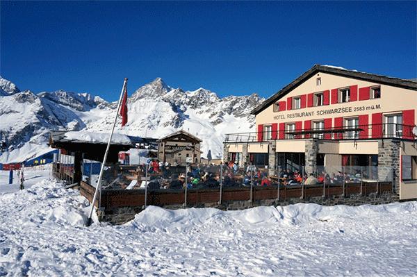 Restaurant Schwarzee 2583m