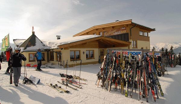Rosi's Schnitzelhütte udefra
