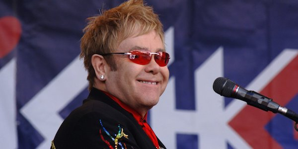 Sir Elton John til Top of the Mountain i Ischgl