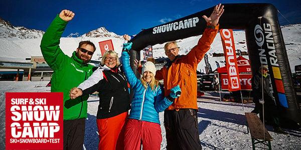 Snowcamp i Solden med test af alt det nyeste udstyr