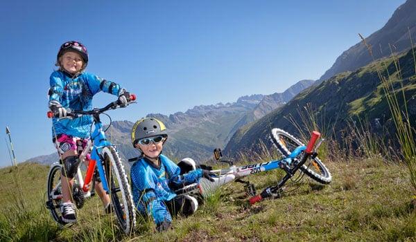 Sommerferie for hele familien i Alperne