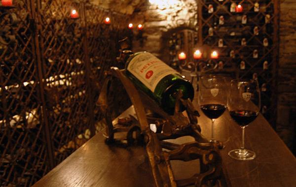 St. Christophs ca. 600 år gamle vinkælder