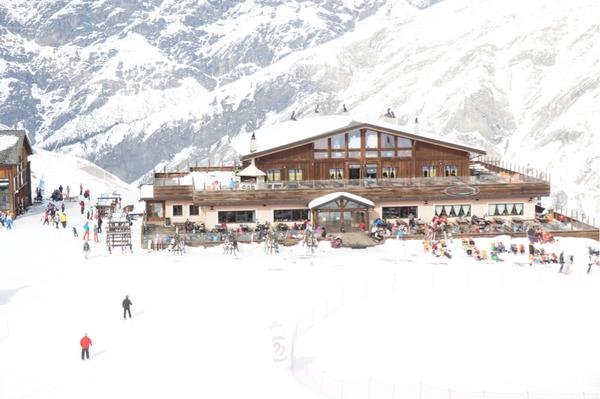 Mountain Lodge er det naturlige samlingssted i Livigno.