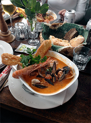 Zuppa di Pesce Fiskesuppe