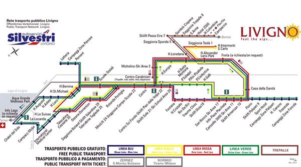 Bussystemet i Livigno.