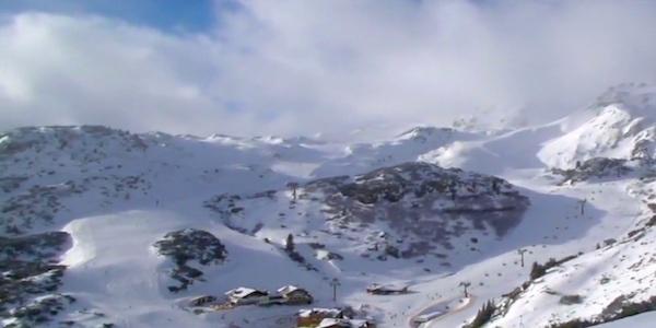 Der er allerede blevet lidt overskyet i Obertauern