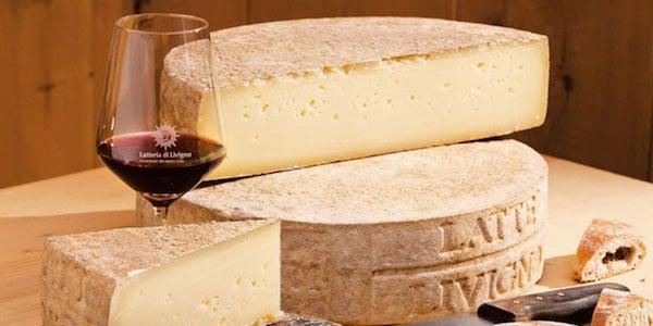 Formaggio italiano - lokal ost fra Latteria Livigno