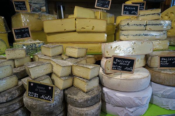 Franske raclette oste
