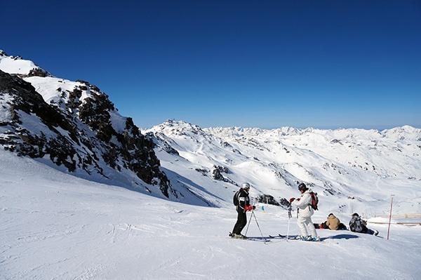 Gletsjeren i Val Thorens garantere fanstastiske sneforhold hele vinteren!