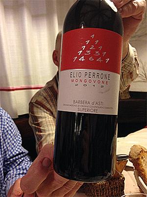 God vin fra Piemonte-området.