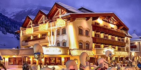 hotel Salnerhof et 4S-hotel i Ischgl