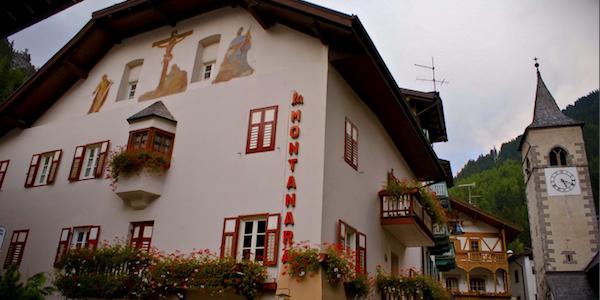 La Montanara et dejligt afterski sted i Canazei