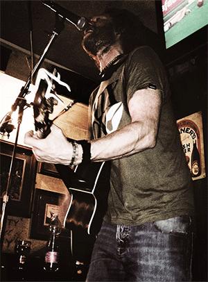 Live musik på Paddy's