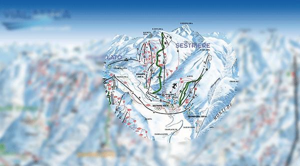 Sestriere er bare en lille del af det ellers store skiområde
