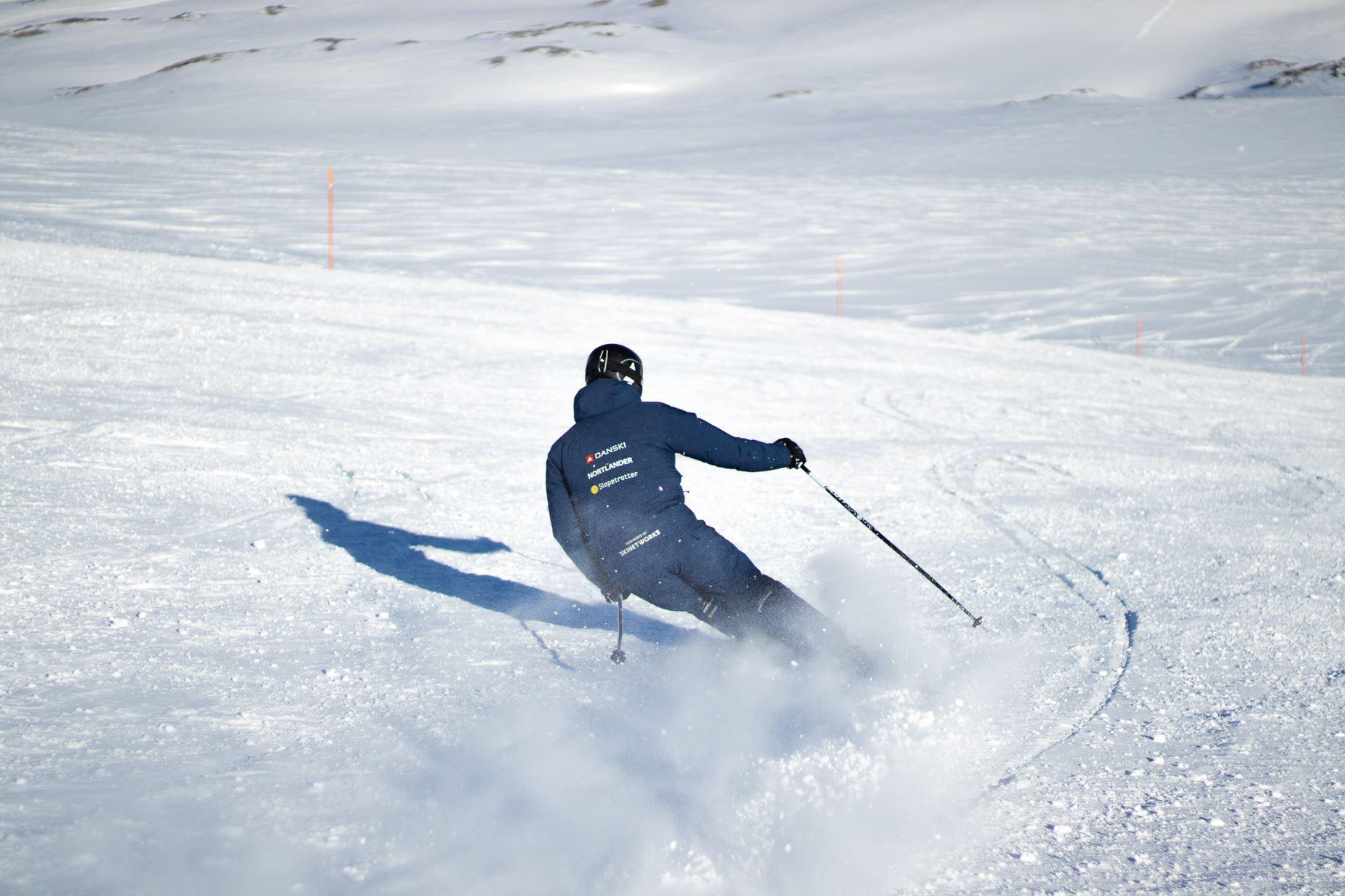 Skinetworks skiguide på pisten i Cervinia