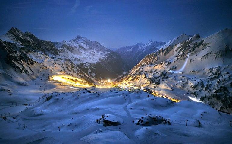Skiferie med Nortlander til Obertauern i Østrig - Aftenskiløb på oplyste pister